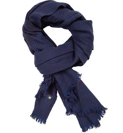 Marc O'Polo Schal   : Marc O'Polo Schal    Herren in blau aus Wolle