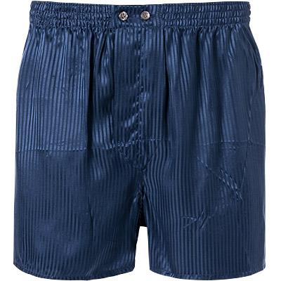 6a08b061d5f86 DEREK ROSE Pure Silk Boxer Shorts 6000 WOBU008NAV