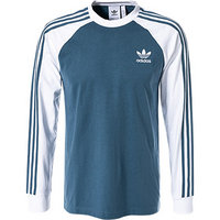 adidas ORIGINALS 3 Stripes LS T blue
