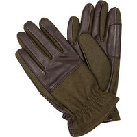 Barbour Handschuhe olive-brown
