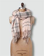 Barbour Damen Schal pink-grey LSC0130PI31