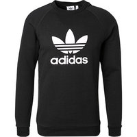 adidas ORIGINALS Trefoil Crew black CW1235