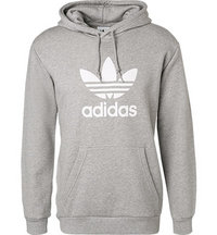 adidas ORIGINALS Trefoil Hoodie grey