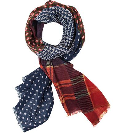 CODELLO Schal : CODELLO Schal  Herren in bunt aus Wolle