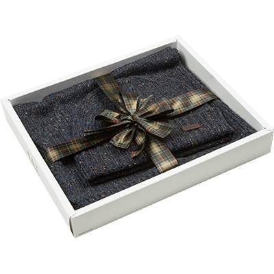 Barbour Donegal Knittet Giftset navy MAC0239NY91