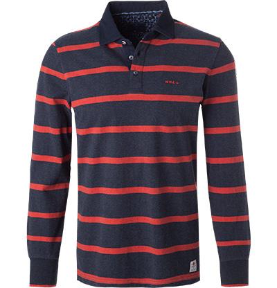 N.Z.A. Polo-Shirt 18GN206/navy melange Preisvergleich
