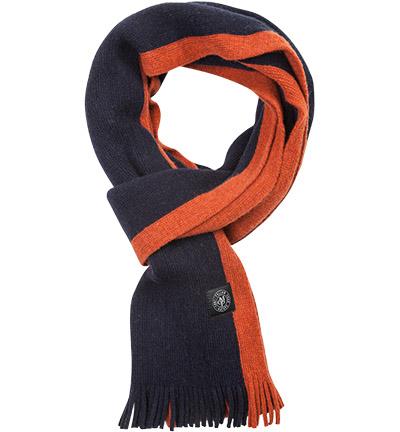 Marc O'Polo Schal   : Marc O'Polo Schal    Herren in blau & orange aus Wolle