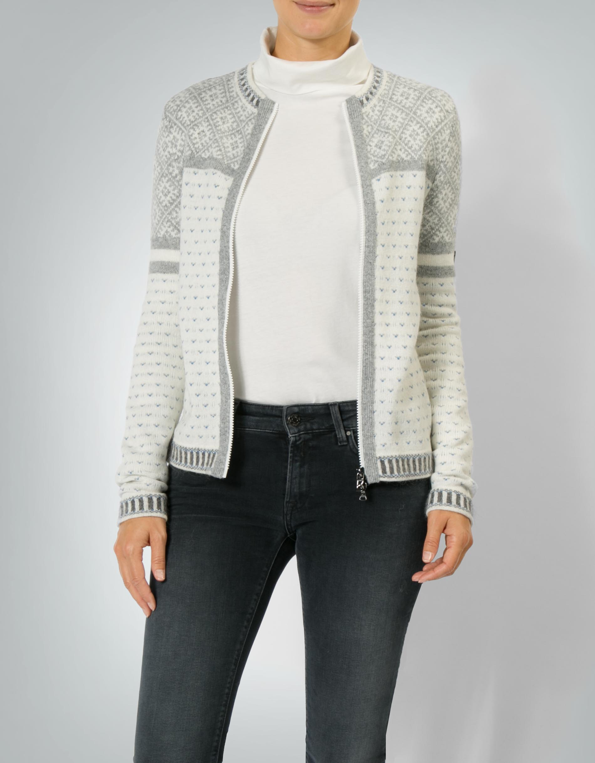 am besten billig Gutscheincode klassische Stile Bogner Damen Pullover Tiana Cardigan im Woll-Mix empfohlen ...
