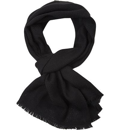 HUGO BOSS Schal Canno : HUGO BOSS Schal Canno  Herren in schwarz aus Wolle