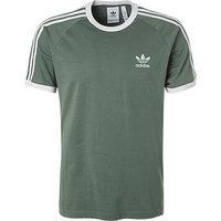 adidas ORIGINALS 3 Stripes T-Shirt green