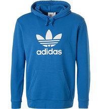adidas ORIGINALS Trefoil Hoody bluebird