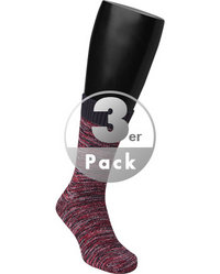 BIRKENSTOCK Socken F. Multi 3er Pack red