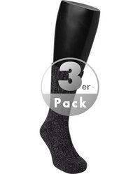 BIRKENSTOCK Socken F.T 3er Pack black