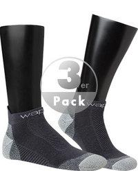 wapiti Laufsocken 3er Pack marine