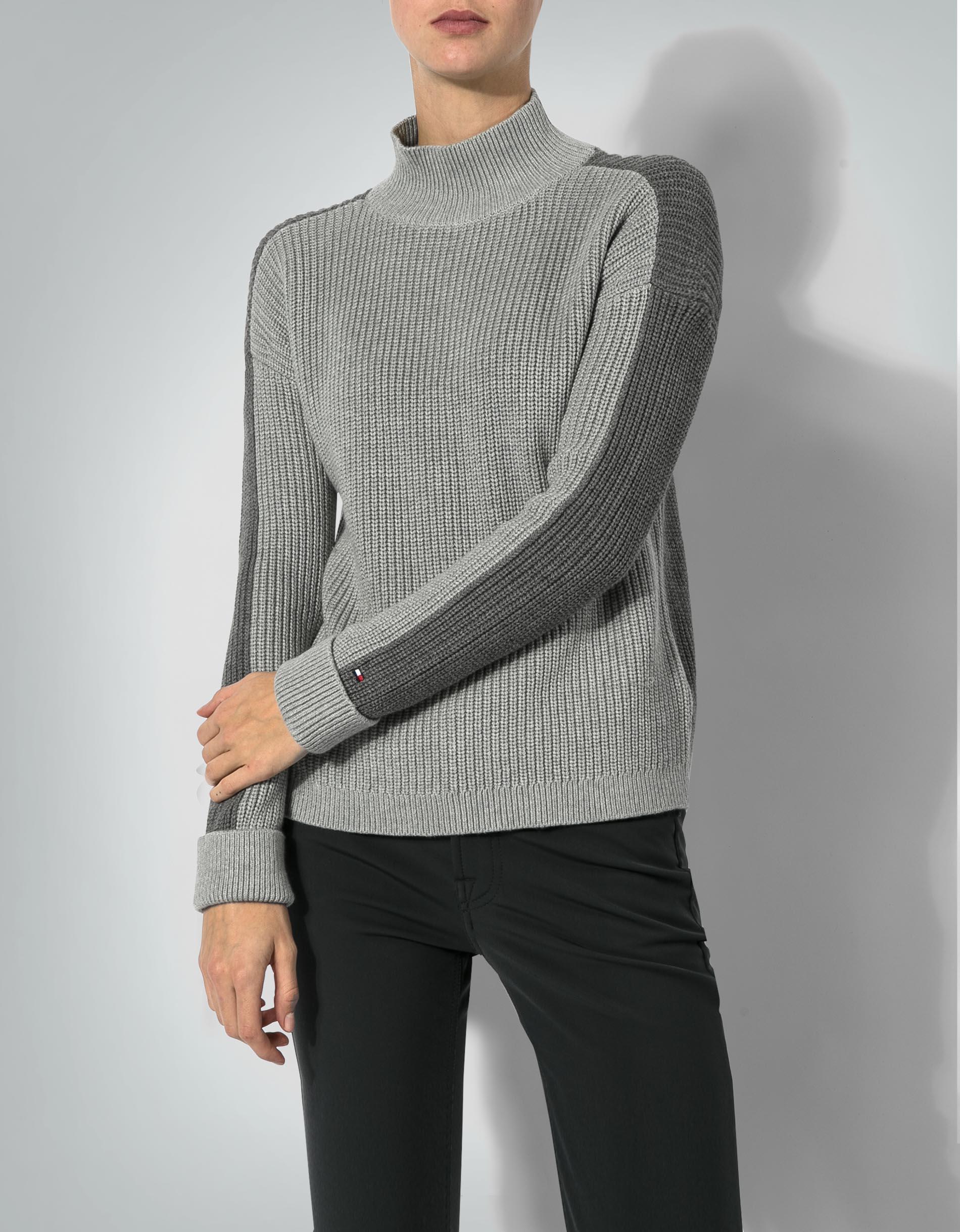 tommy hilfiger damen pullover im color blocking empfohlen. Black Bedroom Furniture Sets. Home Design Ideas