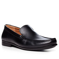 Clarks Claude Plain black leather
