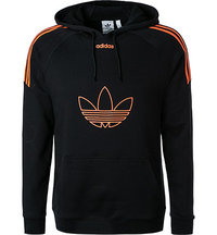 adidas ORIGINALS Flock Hoodie black DU8113