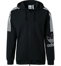 adidas ORIGINALS Outline FZ Hood black DX3853