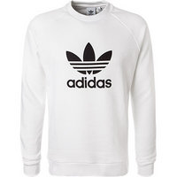 adidas ORIGINALS Trefoil Crew white