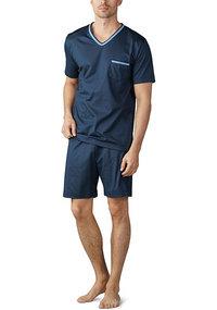 fecf0dceb0c822 Mey NIGHT BASIC Pyjama kurz 18871/668