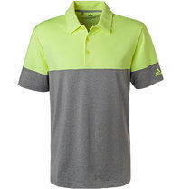 adidas Golf Ultimate365 Polo grey-yellow DQ2225