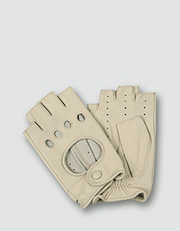 7223b7c6537c0e Roeckl Kurzfinger-Autofahrerhandschuhe aus feinstem Nappaleder