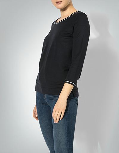 Artikel klicken und genauer betrachten! - Das Shirt avanciert in Kürze zum neuen Daily-Favoriten Ihrer Wahl. Gerade geschnitten, mit einem Rundhalsausschnitt versehen und mit Kontraststreifen an Ausschnitt und Ärmeln ausgestattet, stellt das Modell eine ideale Kombinationsbasis für Ihren Look dar. We like it casual! Longsleeve in geradem Schnitt von Marc O'Polo Rundhalsausschnitt 3/4-Ärmel Kurze Seitenschlitze Kontraststreifen an Ausschnitt und Ärmeln Maße bei Gr. | im Online Shop kaufen