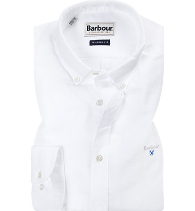 Barbour Hemd white MSH4483WH11