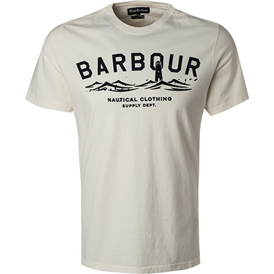 Barbour T-Shirt white MTS0532WH32