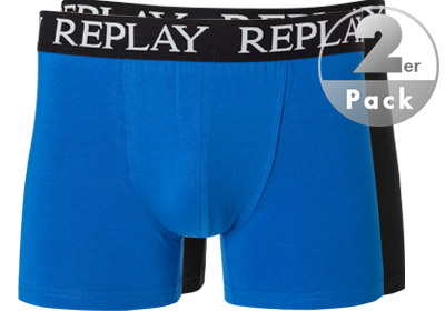 Replay Cotton Stretch Trunk 2er Pack I101005/N090