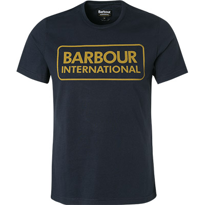 Barbour Essential Large Logo Tee navy MTS0369NY91