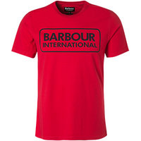Barbour Essential Large Logo Tee red MTS0369RE76