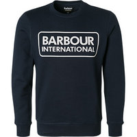 Barbour Sweatshirt Large Logo navy MOL0156NY91