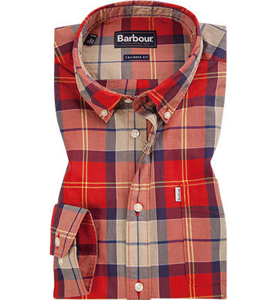 Barbour Hemd Toward red MSH4432RE51