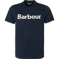 Barbour Logo Tee new navy