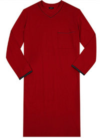 Seidensticker Nachthemd rot