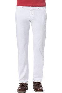 Chambray Hose aus Leinen Baumwolle Mix BLUE   Calvin Klein Herren Hosen & Shorts