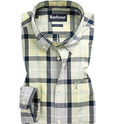 Barbour Hemd Burnside lemon MSH4519YE93