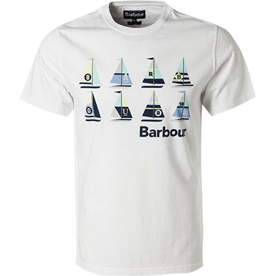 Barbour T-Shirt Sail white MTS0564WH11