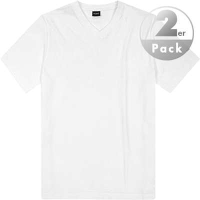bugatti V-Shirt 2er Pack 25600/37246/Moon/101