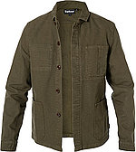 Nice: Barbour Overshirt Duncan olive Deal