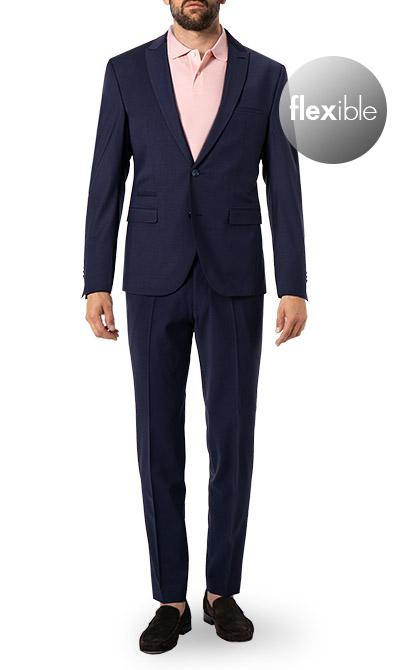 Artikel klicken und genauer betrachten! - Anzug im Schurwoll-Mix mit Stretchanteil von CINQUE Dieser stilvolle Anzug im klassichen Design ist perfekt für den Business-Alltag oder für besondere Anlässe. Der sehr schmale Schnitt unterstreicht Ihre maskuline Silhouette, während die elastische Schurwoll-Mix-Qualität für einen angenehmen Tragekomfort mit optimaler Bewegungsfreiheit sorgt.   im Online Shop kaufen