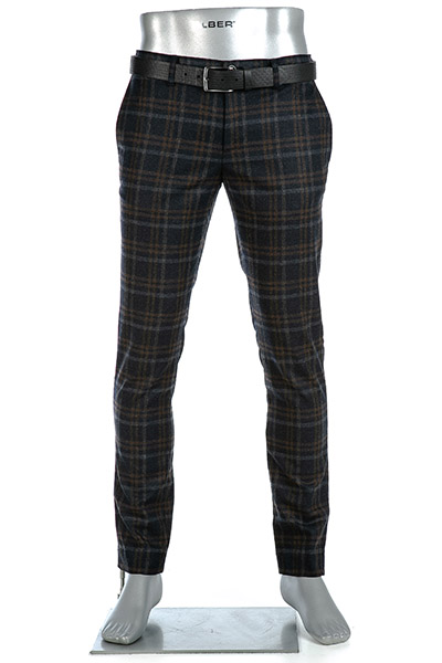 Alberto Slim Fit Rob Smart Wool Check 62861257/085