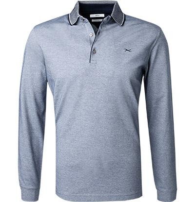 Artikel klicken und genauer betrachten! - Polo-Shirt aus Baumwoll-Jersey von Brax Ein klassisches Polo-Shirt, das mit sportivem Chic und hochwertigem Material punktet. Ein perfektes Basic für sportive Freizeit Looks mit legerem Charme. Details: Langarm Polo-Shirt, Gerade geschnitten Vorderteil: Mit Knöpfen, Kragen mit Kontraststreifen Obermaterial: Jersey, Baumwolle 100 % ProduktFarbe: Hellblau Modell: Pharell Maße: Bei Größe M Rückenlänge ohne Kragen gemessen ca. 71 cm, Brustweite ca.   im Online Shop kaufen