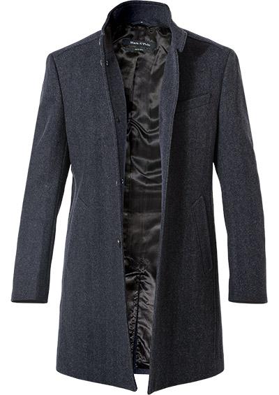 Artikel klicken und genauer betrachten! - Mantel im Woll-Mix von Marc O'Polo Dieser Mantel überzeugt mit maximalen Komfort. Das klassische Design und die melierte Optik machen das Modell zusammen mit einer robusten Qualität im Woll-Mix zu einem sportlichen Outdoor-Begleiter. Smarte Taschendetails komplettieren das Gesamtbild.   im Online Shop kaufen
