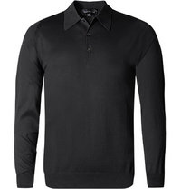 John Smedley Polo Pullover Finchley black