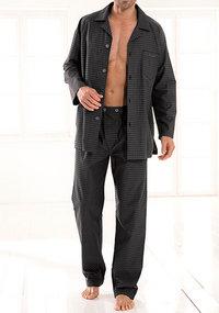 bugatti Pyjama Antonio/II anthrazit