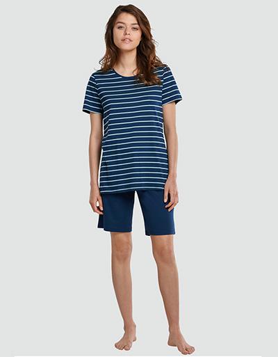 Schiesser Damen Pyjama 173625/914