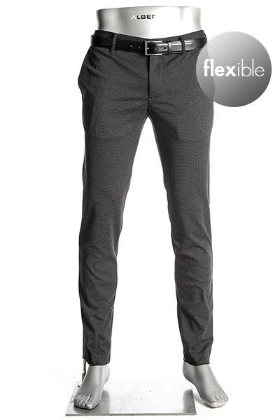 alberto -  Slim Fit Rob-Printed Jersey 62861436/998