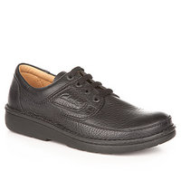 Clarks Nature II black grained